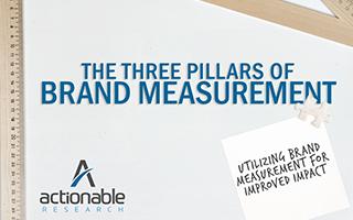 The Three Pillars of Brand Measurement