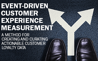 Event-Driven Customer Experience Measurment